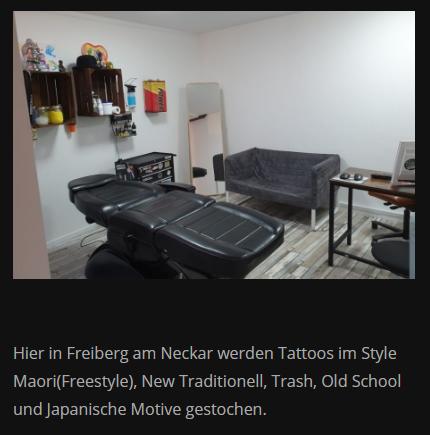 Piercing Studio in 71691 Freiberg (Neckar), Ingersheim, Pleidelsheim, Benningen (Neckar), Bietigheim-Bissingen, Ludwigsburg, Asperg oder Marbach (Neckar), Tamm, Murr
