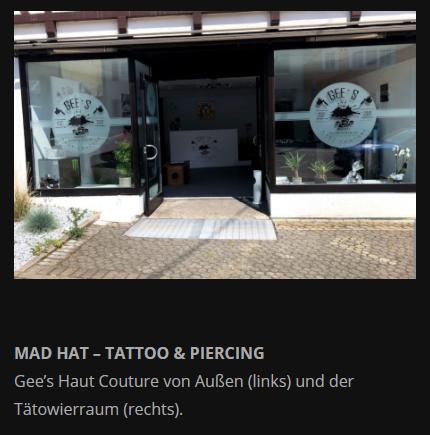 Tätowier Studio aus  Möglingen - Asperg, Tamm und Markgröningen